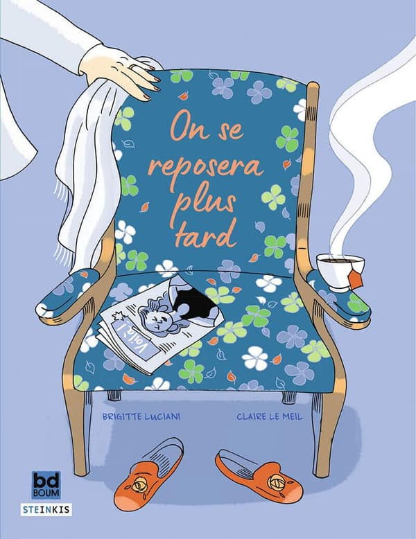 "Couverture de la BD ""On se reposera plus tard"""