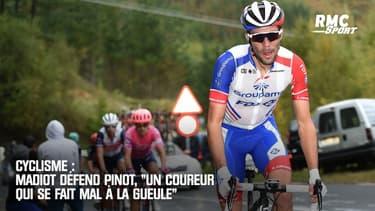 """Vuelta : Madiot défend Pinot, """"un coureur qui se fait mal à la gueule"""""""