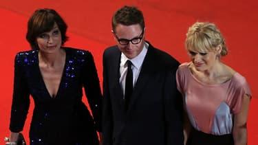 """L'équipe du film """"Only God Forgives"""" emmenée par Kristin Scott Thomas et Nicolas Winding Refn"""