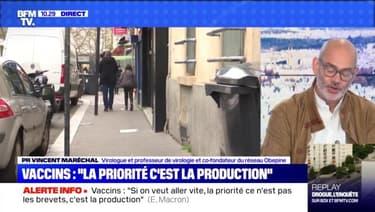 """Macron: """"la priorité c'est la production"""" - 08/05"""