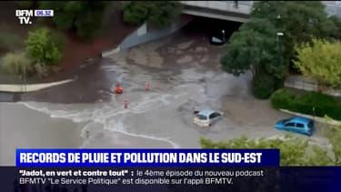 Deux mois de pluie sont tombés en quelques heures à Marseille