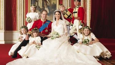 Le mariage de Kate et William en 2011.
