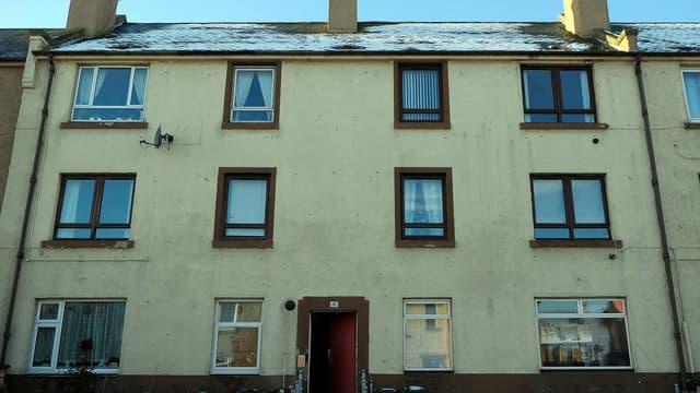 Une centaine de SLP sont domiciliées dans cette rue, la Royston Mains Street, dans la banlieue d'Édimbourg.