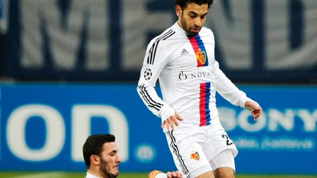 Mohamed Salah, l'attaquant du FC Bâle