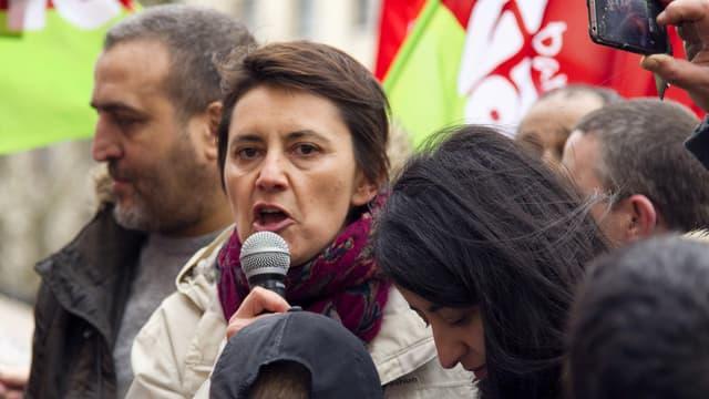 Nathalie Arthaud porte parole du parti la Lutte ouvrière - Jeudi 31 mars 2016