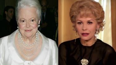 "Dans la première saison de ""Feud"", c'est l'actrice Catherine Zeta-Jones qui incarne Olivia de Havilland."