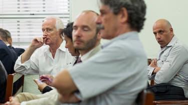 Alain Castany (à gauche) et Nicolas Pisapia (à droite) sont les deux seuls Français encore présents en République dominicaine.