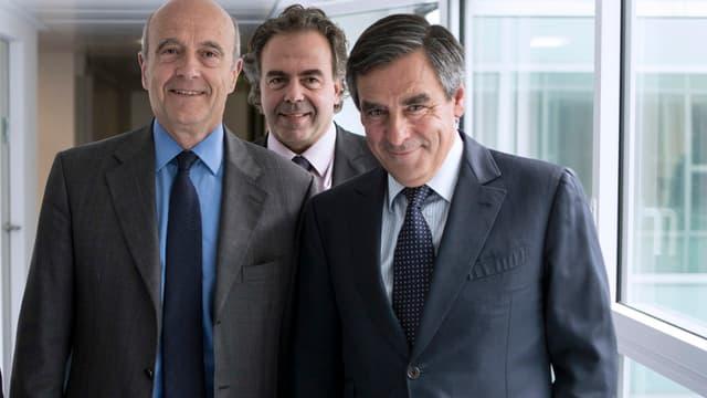 Alain Juppé et François Fillon visent les primaires, alors que Luc Chatel pourrait se présenter à la présidence du parti.