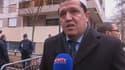 L'imam de Drancy, Hassen Chalghoumi, s'est rendu sur les lieux de la fusillade à Charlie Hebdo.