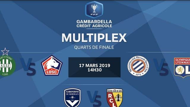 Coupe Gambardella: le multiplex des quarts de finale en vidéo