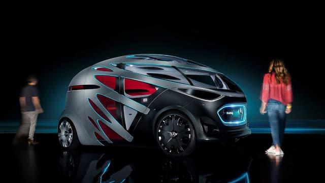 Mercedes-Benz repense la mobilité urbaine, de la livraison aux transports de personnes, avec son dernier concept-car dévoilé ce lundi: le Vision Urbanetic.
