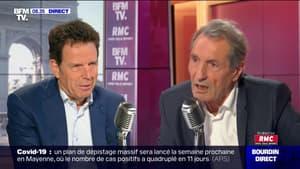 Geoffroy Roux de Bézieux face à Jean-Jacques Bourdin en direct - 09/07