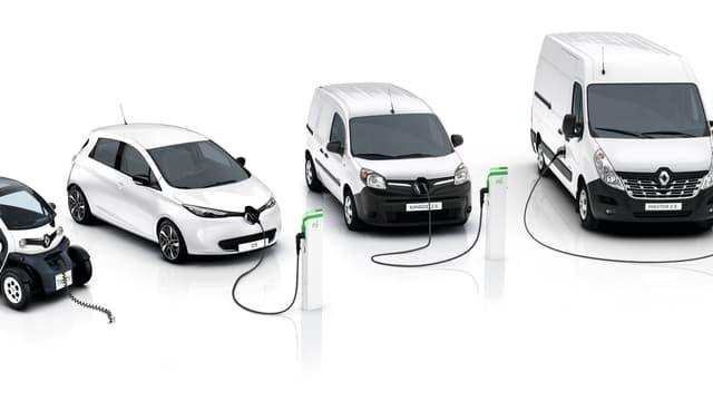 Le Groupe Renault souhaite développer une gamme complète de véhicules utilitaires électriques. (image d'illustration)