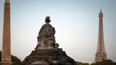 Paris sous la chaleur.