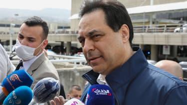 Hassan Diab, Premier ministre libanais.