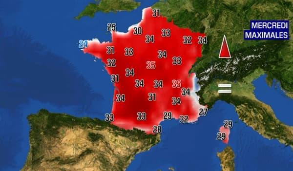 Mercredi, Paris pourrait connaître son record de chaleur le plus précoce jamais enregistré