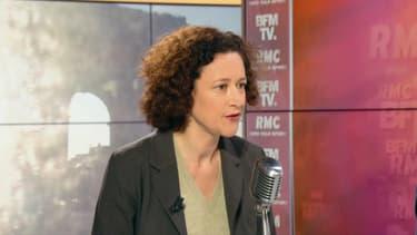 La secrétaire d'Etat auprès du ministre de la Transition écologique et solidaire Emmanuelle Wargon, le 15 février 2019 sur BFMTV et RMC.