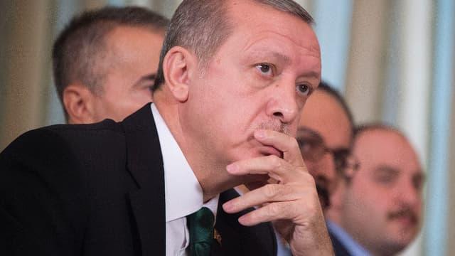 Le président turc Recep Tayyip Erdogan, le 1er décembre 2015.