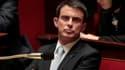 Manuel Valls le 18 février 2015 à l'Assemblée.