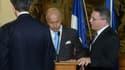 Le ministre français des Affaires étrangères Laurent Fabius a été victime d'un léger malaise à Prague le 23 août 2015