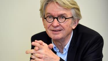 Jean-Claude Mailly, le leader de FO, a réaffirmé qu'il ne donnait pas de consigne de vote