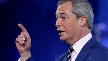 Nigel Farage, en février 2017.