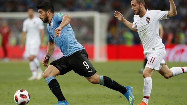 Bernardo Silva face à Suarez