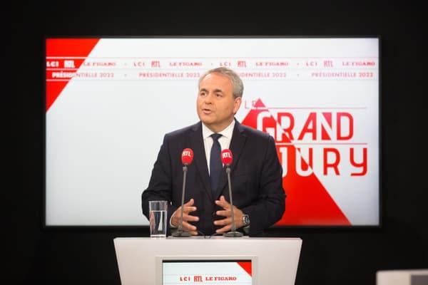 Xavier Bertrand le 19 septembre 2021