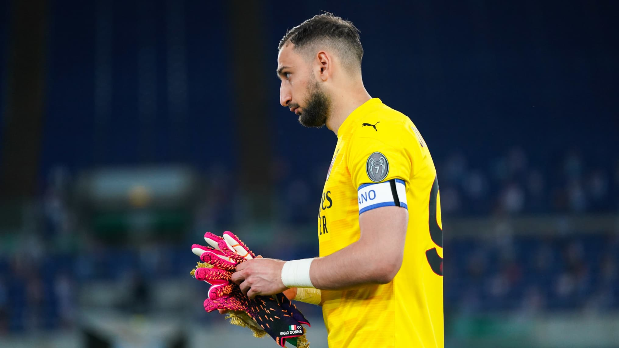 Ac Milan Donnarumma Is Controversial After The Slap Against Lazio The Indian Paper