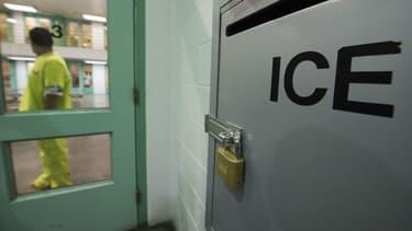 Centre de détention de la police migratoire américaine (illustration)