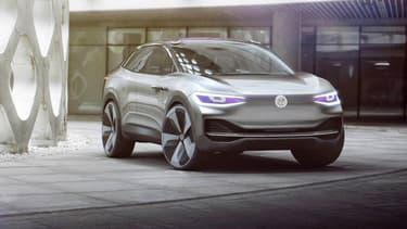 Volkswagen poursuit son incursion dans l'électrique avec un SUV, l'ID Crozz concept.