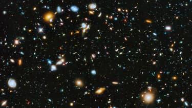 L'image publiée par Hubble Ultra Deep Field, 2014.