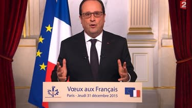Lors de ses voeux, François Hollande a mis l'accent sur la formation professionnelle et l'apprentissage.