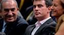 Manuel Valls aux côtés de Jean Gachassin