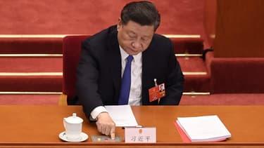 Le président chinois Xi Jinping, le 28 mai 2020