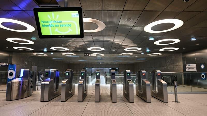 Ile-de-France: le prolongement de la ligne 14 à Saint-Ouen ouvre ce lundi