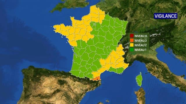 Les Pyrénées-Orientales ont été placées en vigilance orange, le 28 août 2020.