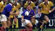 Christian Califano en 2000 lors d'un test match face à l'Australie