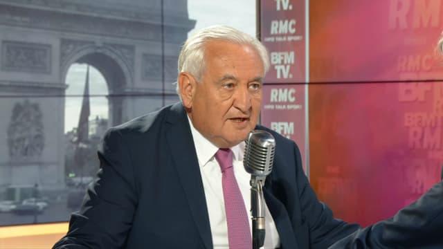 Jean-Pierre Raffarin sur BFMTV et RMC le 10 mai 2019.