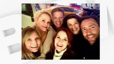 """Six des acteurs de """"Melrose Place"""", 20 ans plus tard"""