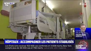 Comment sont accompagnés les patients stabilisés dans les hôpitaux ?