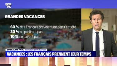 Vacance : les Français prennent leur temps - 30/05