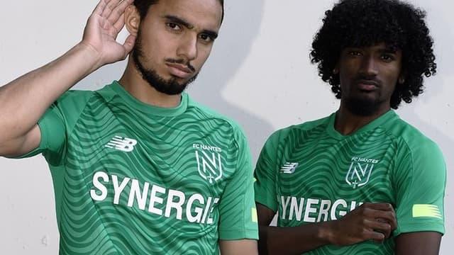 Le maillot extérieur 2019-2020 du FC Nantes