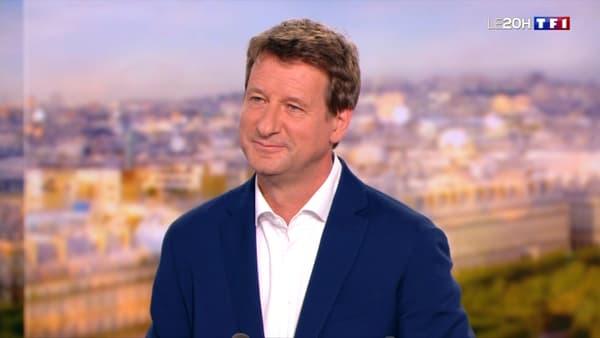 L'eurodéputé EELV Yannick Jadot le 30 juin 2021 sur le plateau de TF1.