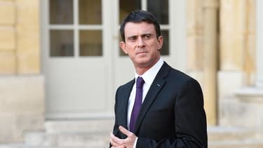 Le Premier mininstre Manuel Valls à Paris le 28 novembre.