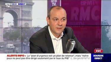 """Laurent Berger: """"Repartir sur une réforme des retraites maintenant, c'est juste totalement irresponsable"""""""