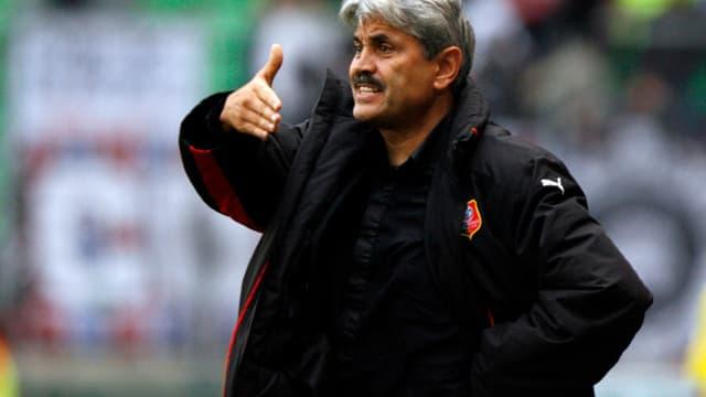 Guy Lacombe, l'entraîneur de l'AS Monaco