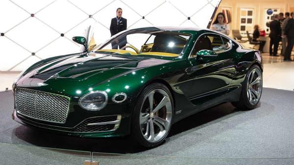 Le concept EXP10 datant de 2015, dont les lignes se retrouvent aujourd'hui dans la nouvelle Continental GT.