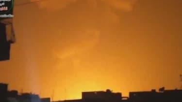 Une énorme explosion a été entendue à Damas dans la nuit de samedi à dimanche.