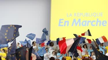 La convention politique d'En Marche, le 8 juillet dernier à Paris.